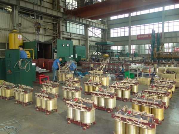 Production process of SGB10 Cast Resin Transformer: